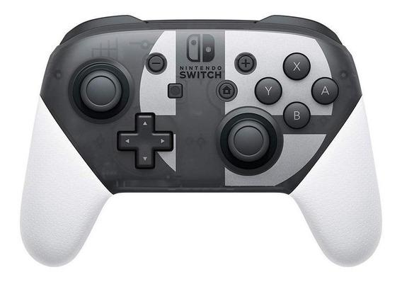 Controle joystick Nintendo Pro Controller Switch super smash bros ultimate edition