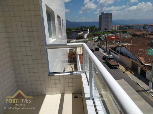 Imagem 1 de 19 de Apartamento Com 1 Dormitório À Venda, 59 M² Por R$ 210.000,00 - Tupi - Praia Grande/sp - Ap2749