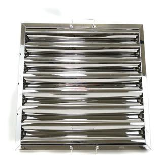 Filtro Para Campana Acero Inoxidable 430 49.5x49.5 Cm Arol