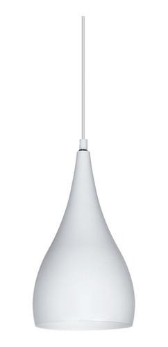 Lámpara Colgante Prasino Gota Blanco Moderno Deco Living