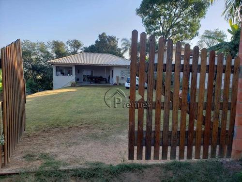 Chácara Com 2 Dormitórios À Venda, 1000 M² Por R$ 550.000,00 - Recanto Campestre Viracopos Gleba 2 - Indaiatuba/sp - Ch0155