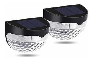 Luces Para Poste De Valla Solar Semicirculares Para Exterior