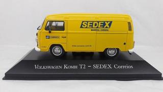 Miniatura Volkswagen Kombi Sedex Correios
