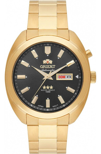 Relógio Orient Masculino Automático 469gp077 G1kx - Preto