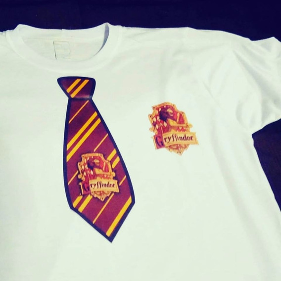 Camiseta Harry Potter - Gravata Grifinória