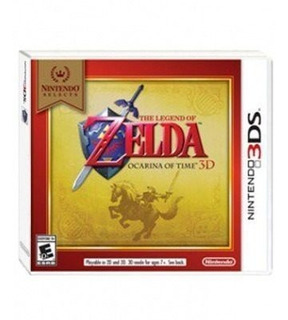 The Legend Of Zelda Ocarina Of Time 3d Nintendo Selects 3ds