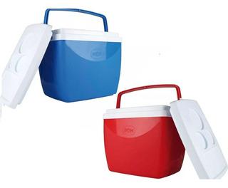 Caixa Térmica 26 Litros - Vermelha Ou Azul Oferta