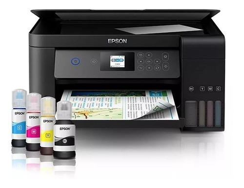 Imagem 1 de 9 de Impressora Multifuncional Epson Ecotank L4160 Wifi E Duplex