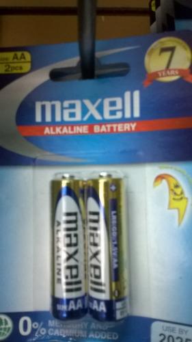 Pila Bateria Aa   Alcalina Maxell Pack