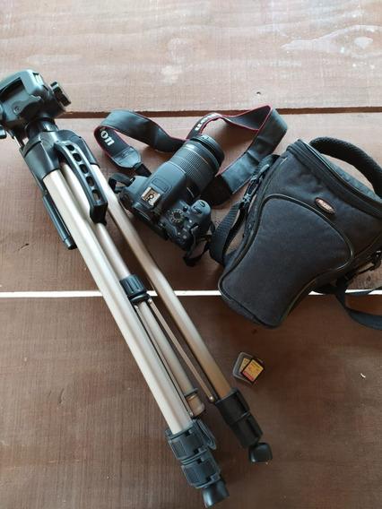 Câmera Canon T5i Com Bolsa + 2 Cartões 16gb + Tripé
