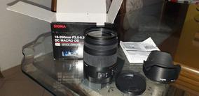 Lente Sigma 18-250mm F3.5-6.3 Dc Marcro Os P/ Canon