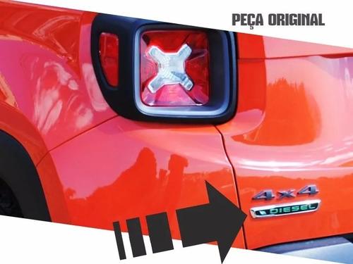 Imagem 1 de 1 de Emblema Jeep Renegade - Diesel - Pn 51974535
