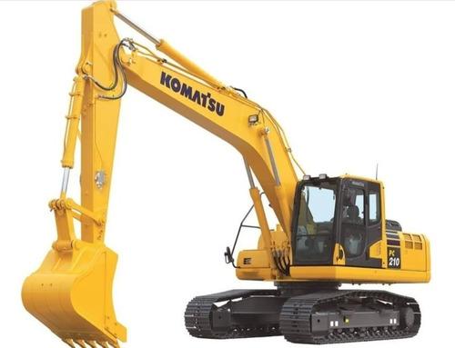 Escavadeira Komatsu Pc 210 2020 - 0hr - Pronta Entrega