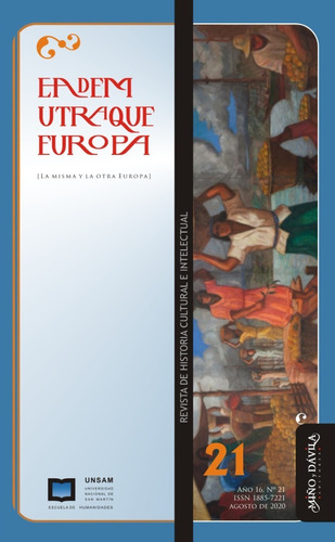 Imagen 1 de 2 de Revista Eadem Utraque Europa Nro. 21