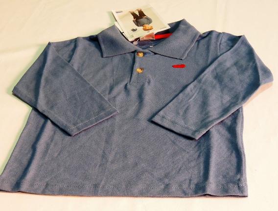 Camisa Camiseta Blusa Pólo Infantil Masculina Marlan Tam. 2