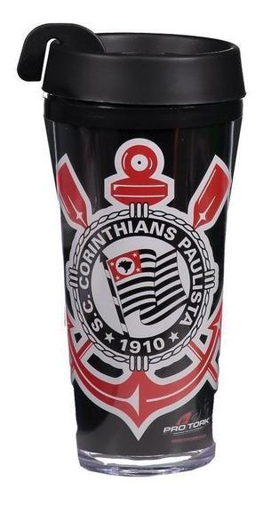 Copo Térmico Pro Tork Corinthians 500ml