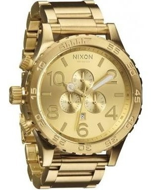Relogio Nixon Dourado