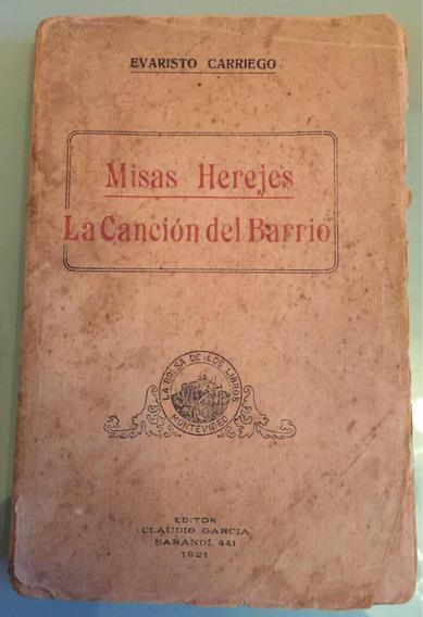 Livro Antigo Raro - Missas Herejes - 1921