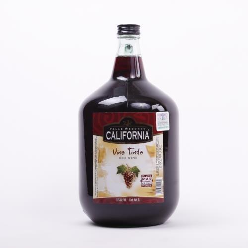 Vino Tinto California 4 Litros