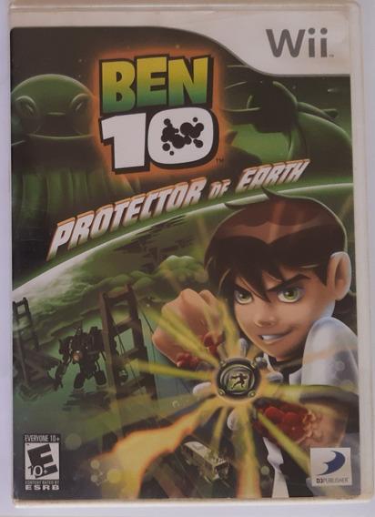 Ben 10 Protector Of Earth Wii Mídia Física
