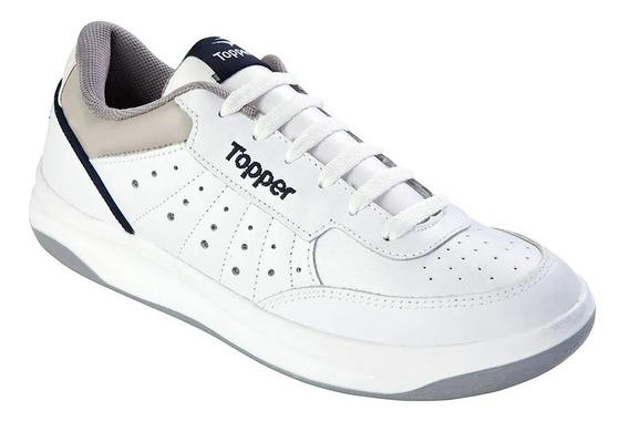 Zapatillas Topper Cuero - Tenis, Tiempo Libre - Envío Gratis Y Cuotas Sport Evolved