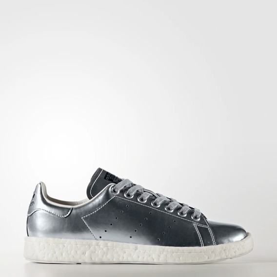 Tênis adidas Stan Smith Boost W Prateado Original 1magnus