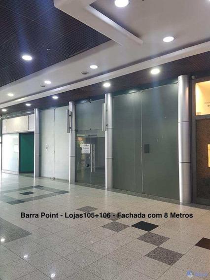 Loja, Barra Da Tijuca, Rio De Janeiro - R$ 680.000,00, 170m² - Codigo: 17 - A17