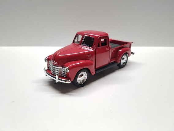 Miniatura Chevrolet Pickup 1953 Metal Scala 1:36