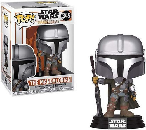 Imagem 1 de 2 de Funko Pop The Mandalorian Star Wars 345