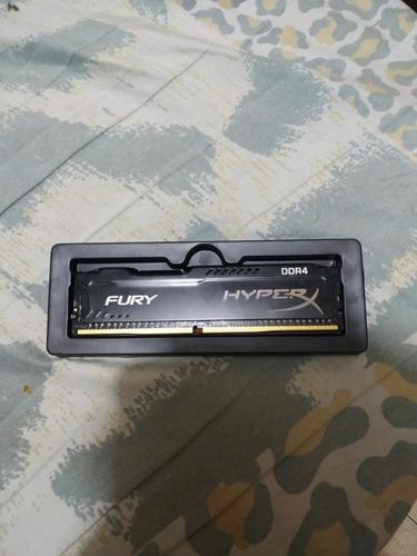 Imagem 1 de 4 de Memória Ram Ddr4 4gb Fury Hyperx 2400mhz