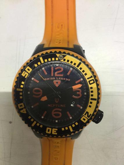 Reloj Caballero Swiss Legend Neptune