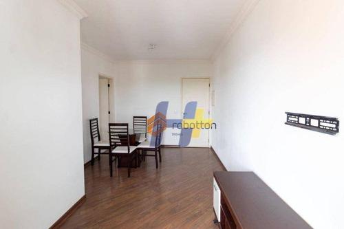 Imagem 1 de 21 de Apto Mobiliado Com 2 Dormitórios Para Alugar, 50 M² Por R$ 2.600/mês - Chácara Santo Antônio (zona Sul) - São Paulo/sp - Ap1143