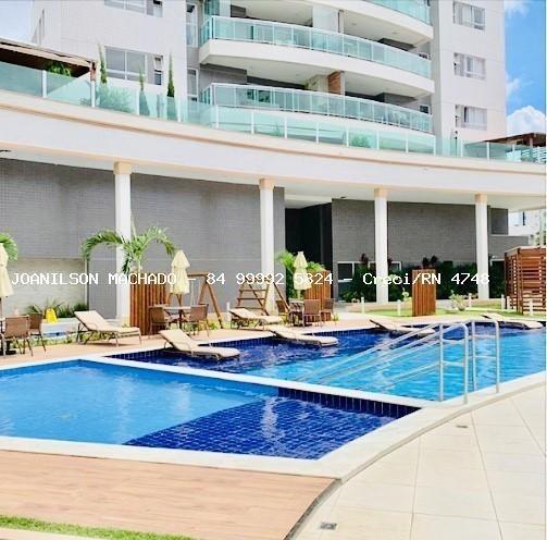 Apartamento Para Venda Em Natal, Lagoa Nova - Heitor Villa Lobos, 3 Dormitórios, 3 Suítes, 5 Banheiros, 2 Vagas - Ap0541-heitor Villa Lobos