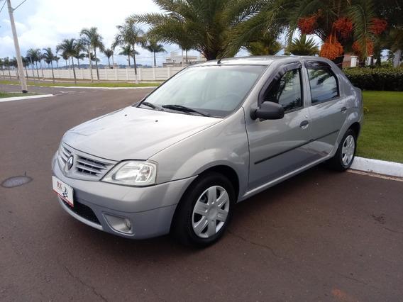 Renault Logan Expression 1.6 8v Flex Bege 2010