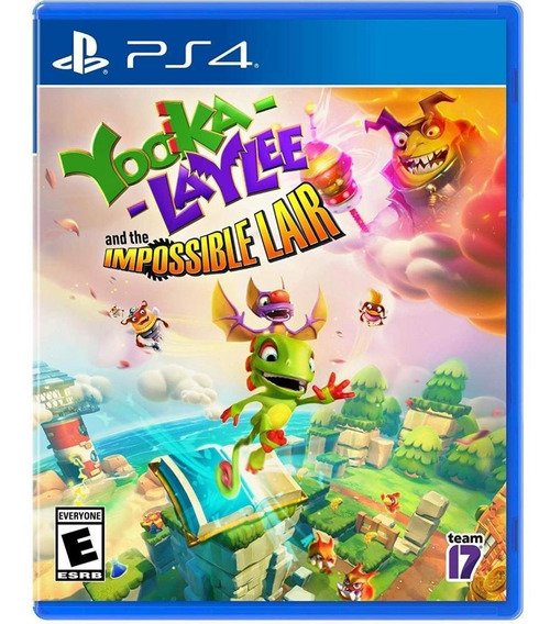 Yooka Laylee The Impossible Lair Ps4 Mídia Física Novo