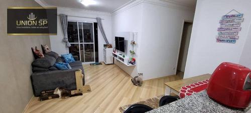 Apartamento Com 3 Dormitórios À Venda, 75 M² - Saúde - São Paulo/sp - Ap47578
