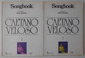 Songbook Caetano Veloso Vols. 1 E 2 Almir Chediak Lumiar Edi