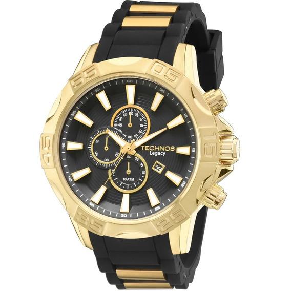 Relógio Technos Masculino Clasic Legacy Os10ew/8p Cronógrafo