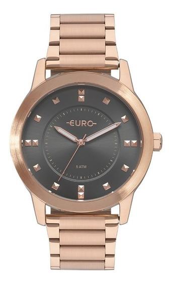 Relógio Euro Feminino Rose Eu2039jr/4c