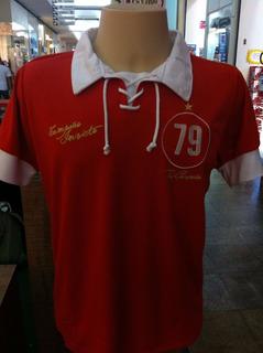 Camisa Em Homenagem Ao Time Do Inter-rs Tri Em 1979