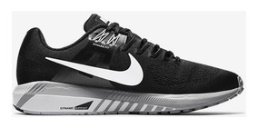 Tênis Nike Air Zoom Structure 21 Preto Pisada Pronada Tam 39