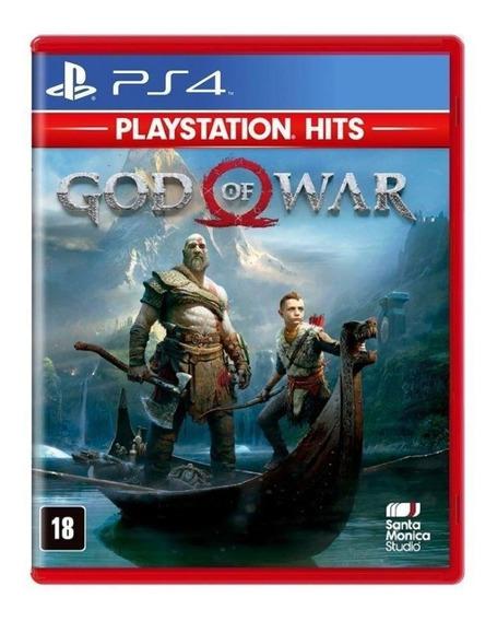 God Of War 4 Ps4 - Jogo Em Mídia Física Novo Dublado