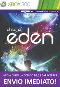 Xbox 360 Game Child Of Eden Mídia Digital 25 Dígitos