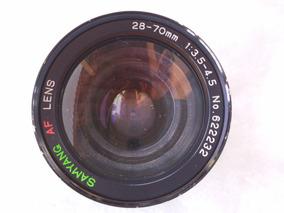 Lente Samyang Af 28 - 70 Mm 1:3.5 - 4.5 P/ Nikon