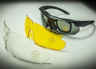 Óculos Tatico Emerson Es Style 3x1 3 Cores De Lentes Bd6481