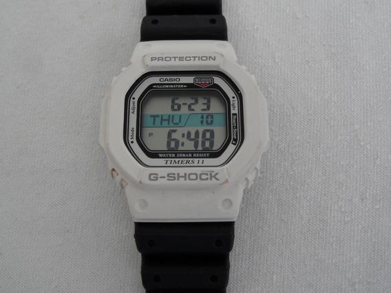 Reloj Casio G-shock Timers 11 Modulo Dw-56rtb Blanco Raro