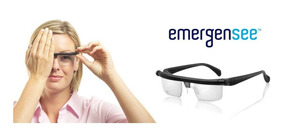 Lentes Regulables Ajustables Gafas Graduables Emergensee