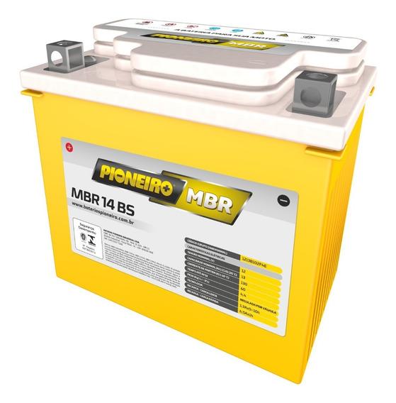 Bateria De Moto Pioneiro Mbr14-bs Yuasa 13ah Bmw F800 1200gs