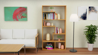 Estante Sanderi Furniture Modelo: Helsinki