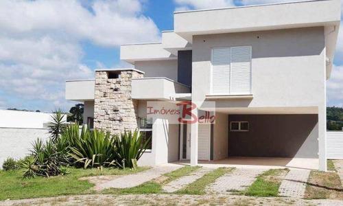 Casa Com 3 Dormitórios, 283 M² - Venda Por R$ 1.100.000,00 Ou Aluguel Por R$ 6.000,00/mês - Bosque Dos Pires - Itatiba/sp - Ca1500